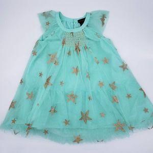Cynthia Rowley Tulle Dress Star Smocked 5T